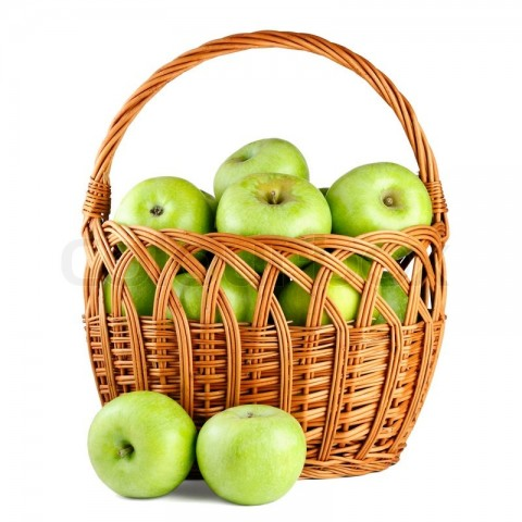 Green Healthy Apples