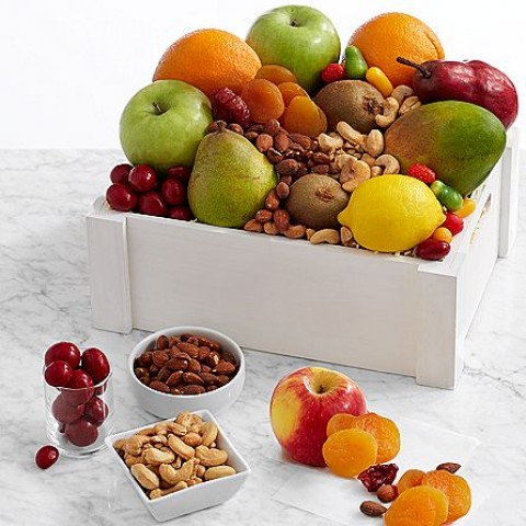 Fruit, Sweets & Nuts Gift Crate