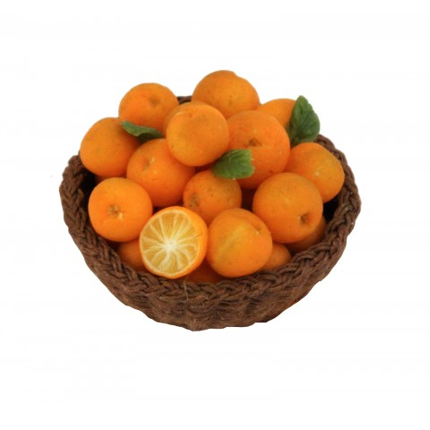Orange in the Basket