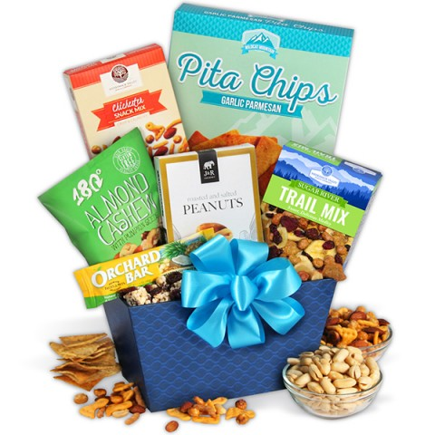 Healthy Treats Gift Basket
