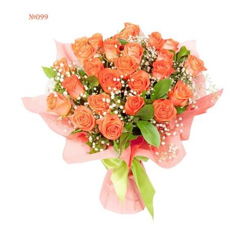 Glamorous Scarlet Roses