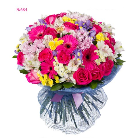 Bright Voluminous Bouquet