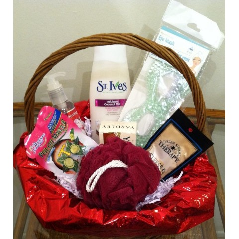 Spa Small Gift Basket