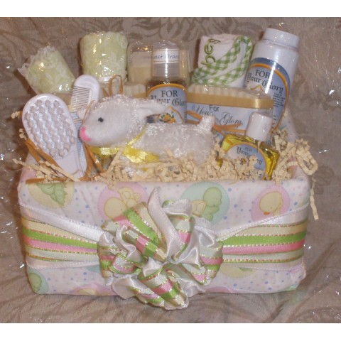 New Born Baby Spa Basket