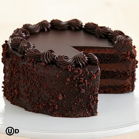 Dark Hot Chocolate Cake