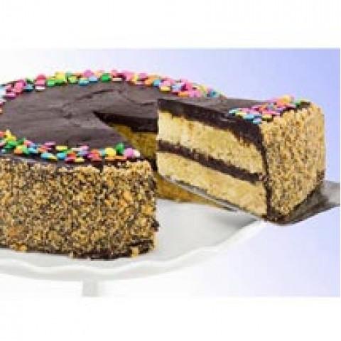 Marble Brownie Cake