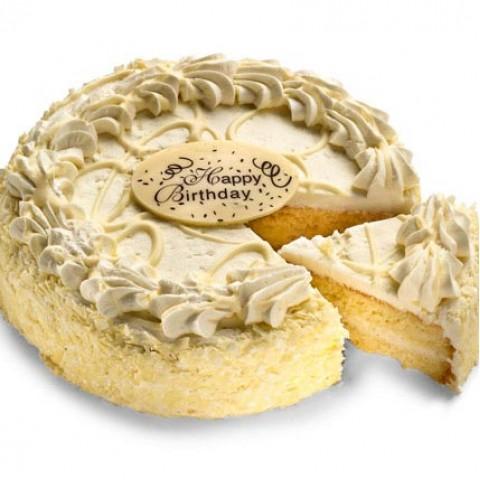 Luscious Vanilla Cake