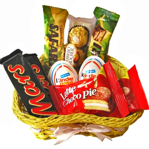 Little Heart Chocolate Basket