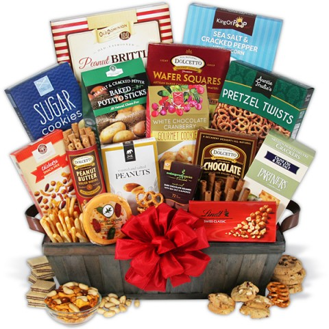 Ultimate Chocolate Snack Fun Basket