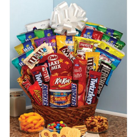 Super Sweet Snack Gift Basket