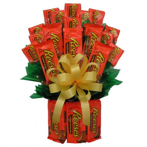 Peanut Butter Chocolate Bouquet
