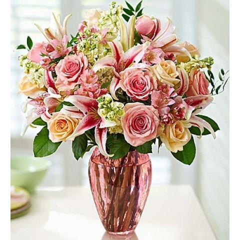 Feminine flare bouquet