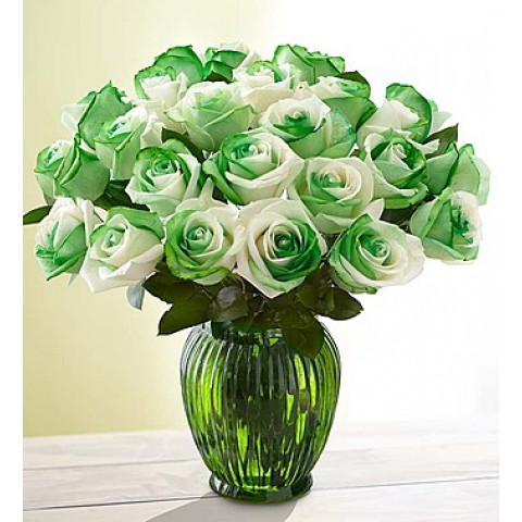 Winter green bouquet