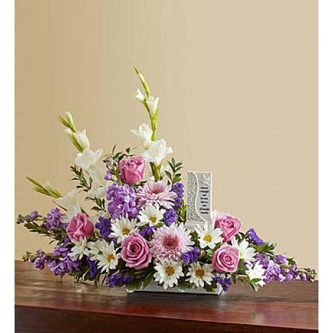 Beautiful Memories Lavender&White