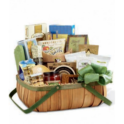 Grand and Gourmet Gift Basket