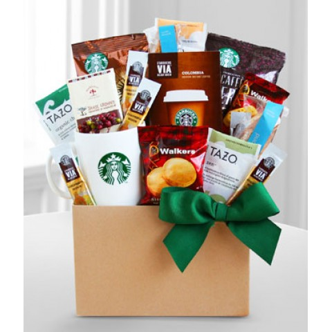 Coffee and Treats Basket